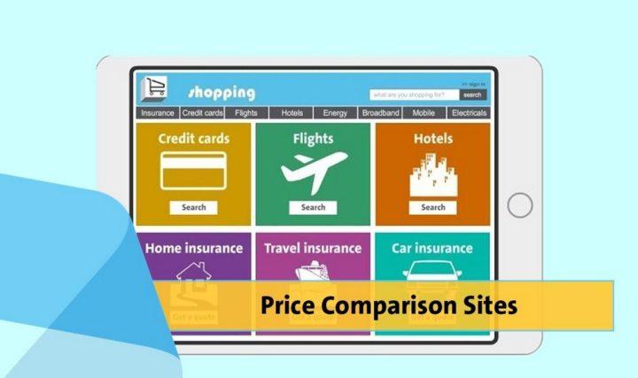 Price comparison websites