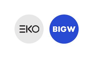 EKO and BigW logo