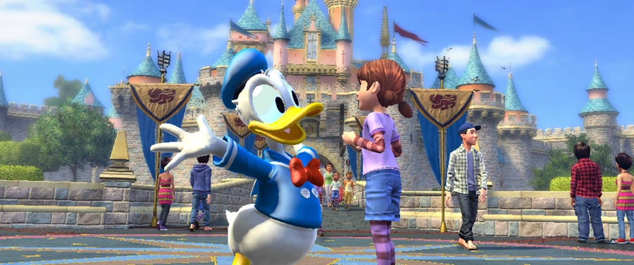 Review Kinect Disneyland Adventures
