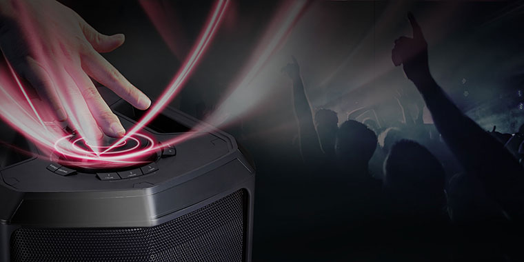 LG FH6 DJ function