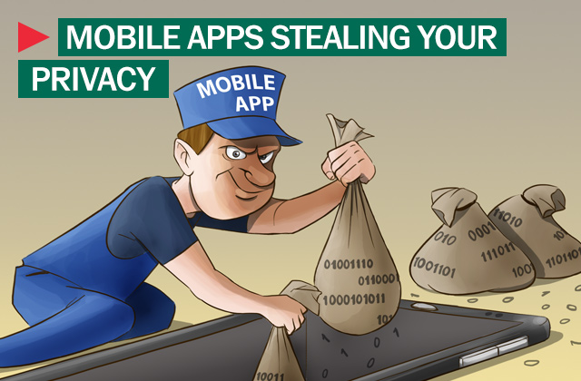 data stealing apps