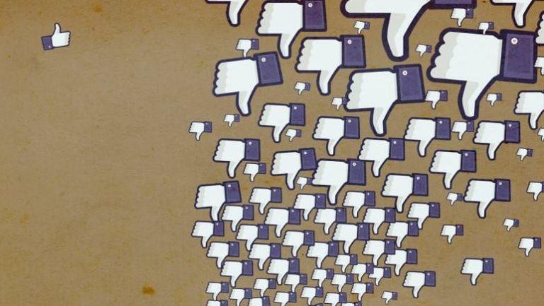 Facebook f'up