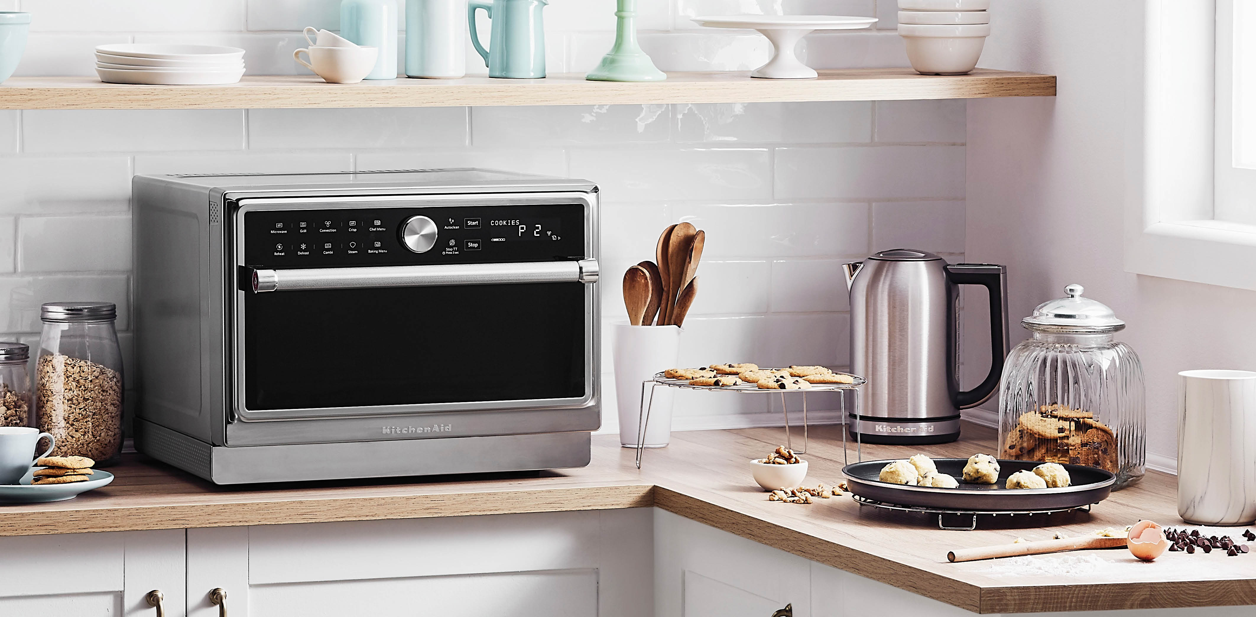 KitchenAid Bake Assist microwave Oven