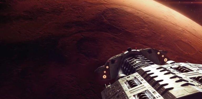 HP Mars Home Planet