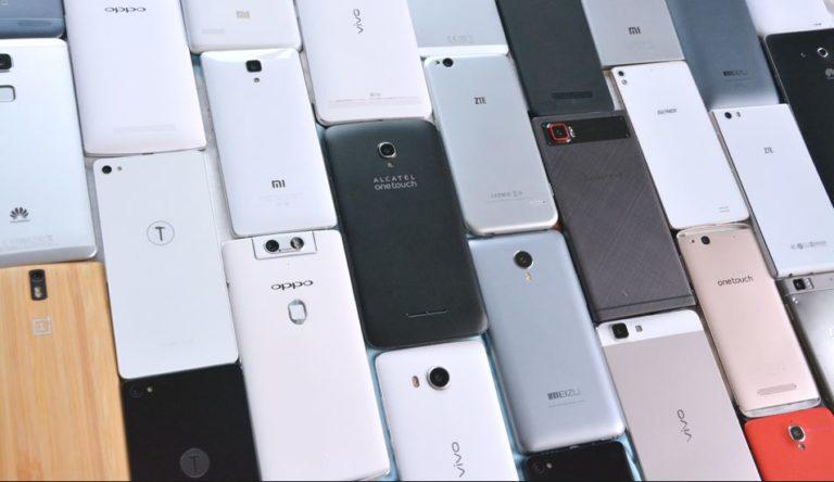 Smartphone sales stall