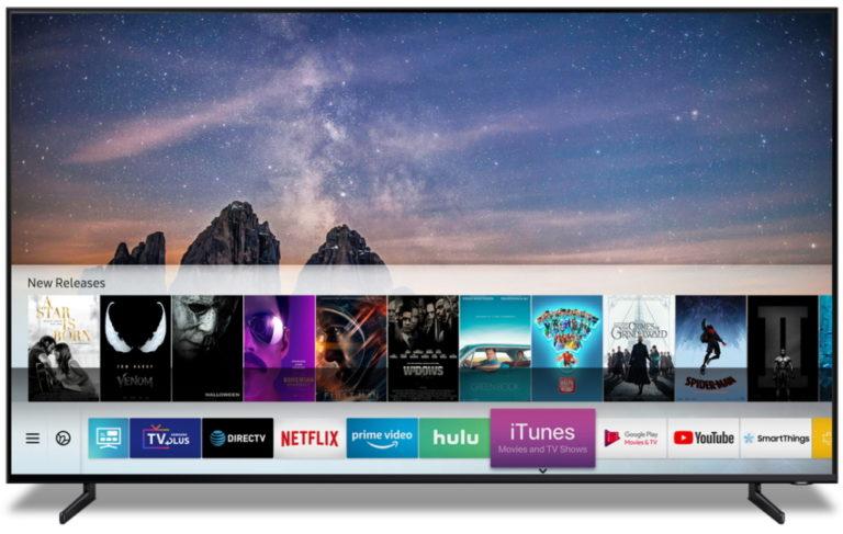 Samsung 2019 smart TVs will support Apple