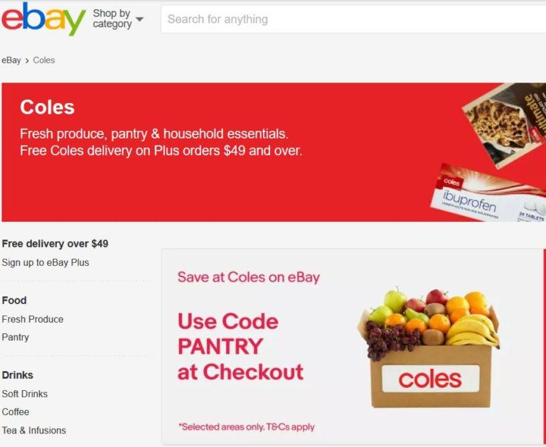Coles on eBay