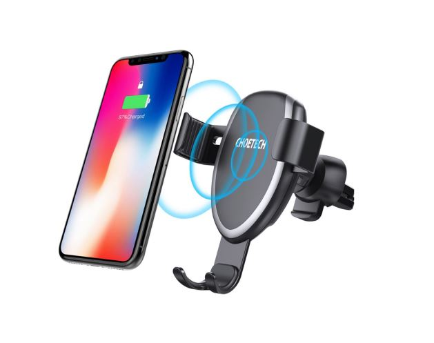 Choetech 10W Qi car charger