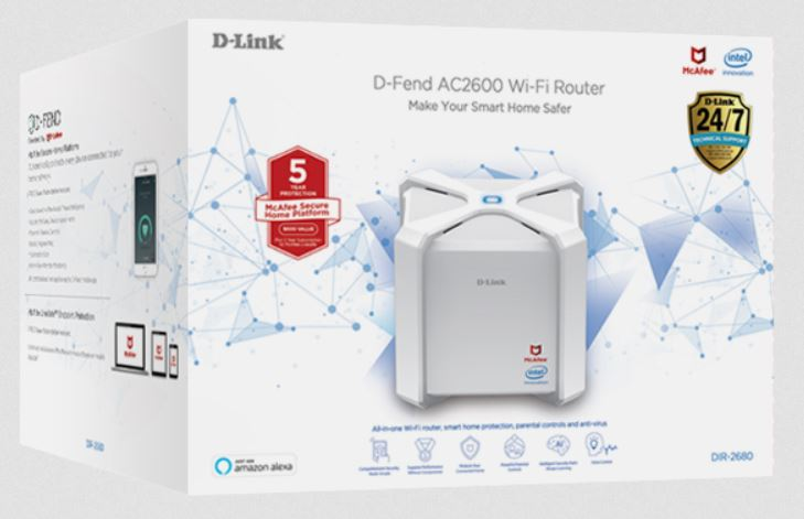 D-Link D-Fend DIR-2680
