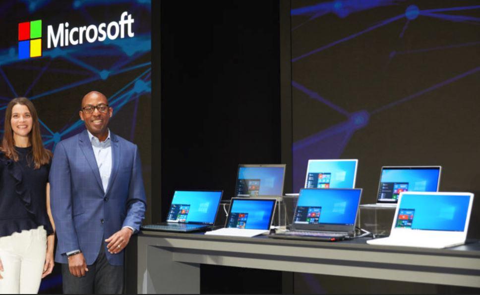 Microsoft at Comdex 2019