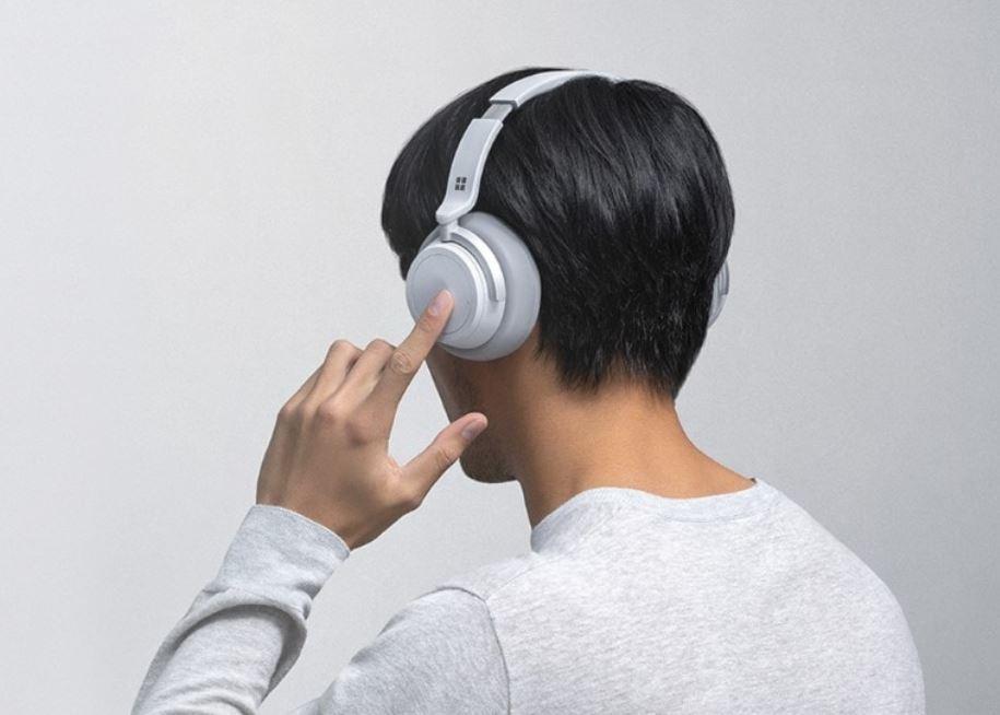 Microsoft Surface Headphone header