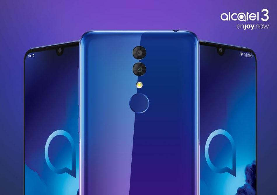 Alcatel 3 2019 header