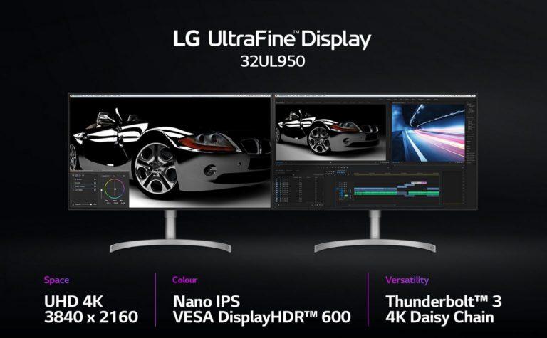 LG 32-inch 4K Ultrafine LG 32UL950-W