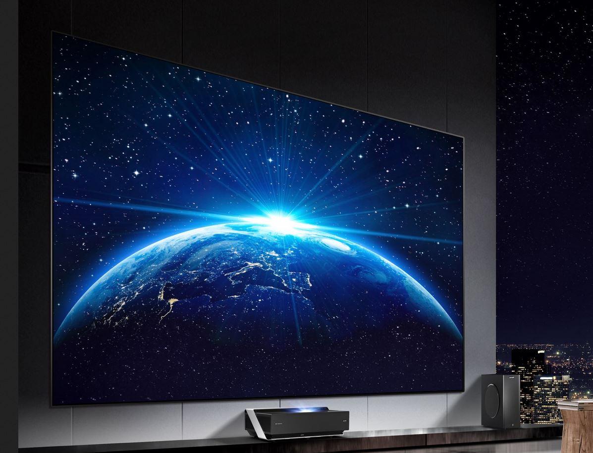 Hisense 100-inch laser TV