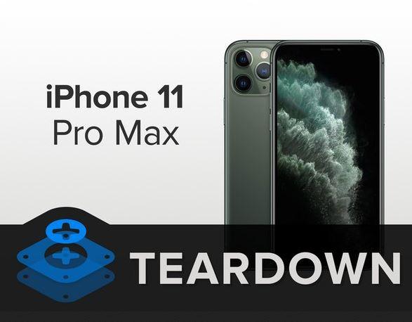 iFixit iPhone 11 Teardown