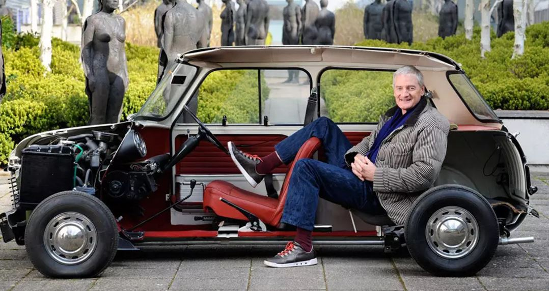 Dyson EV patents