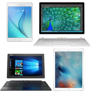 Hybrid tablets and two-in-ones