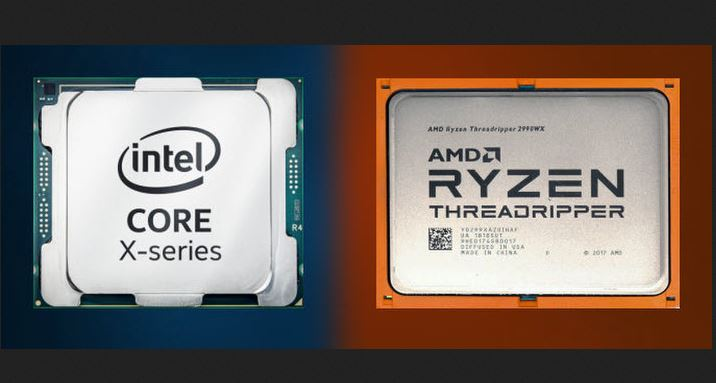 AMD Threadripper and Intel Cascade Lake collide