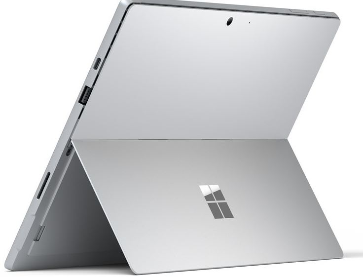 Surface Pro 7 back