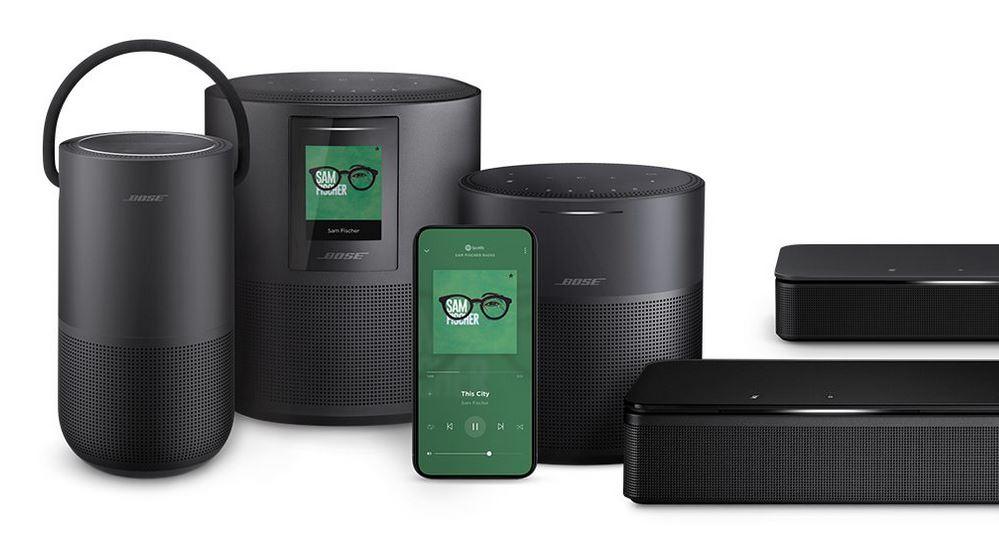 Bose Smart Home family