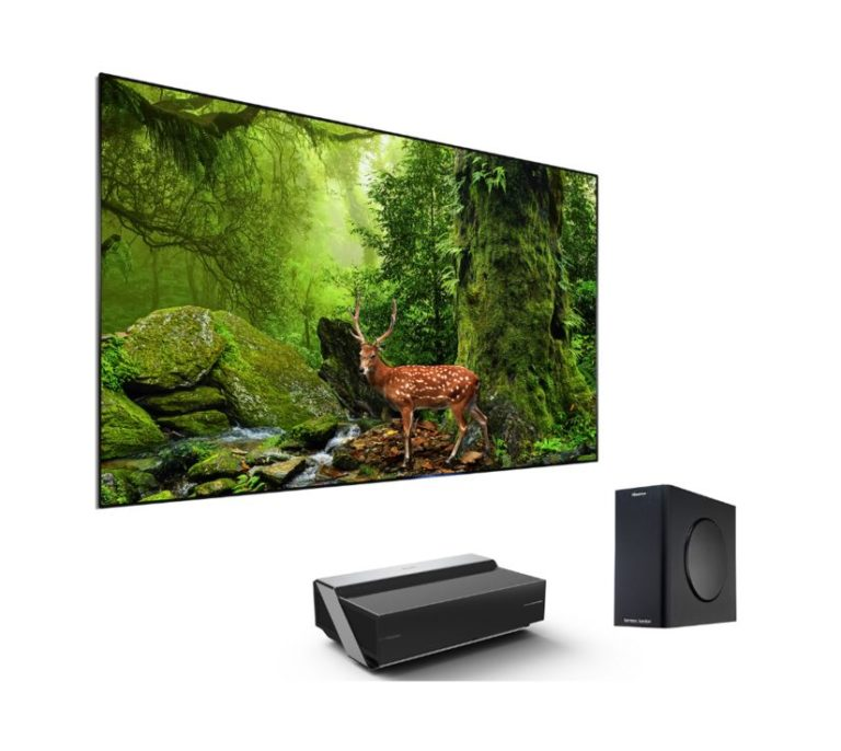 Hisense 4K TriChroma Laser TV