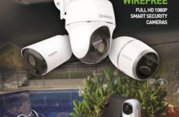 Uniden Solo+ security camera range