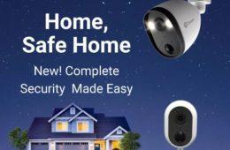 Swann Alert Indoor, and Spotlight Outdoor, security cameras