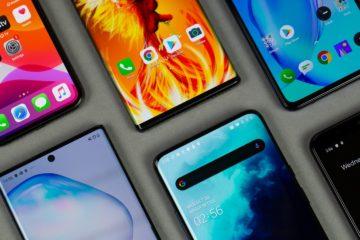 Smartphone market share 2019
