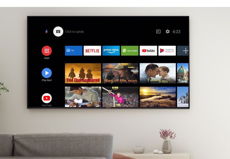 Sony 2020 TV range