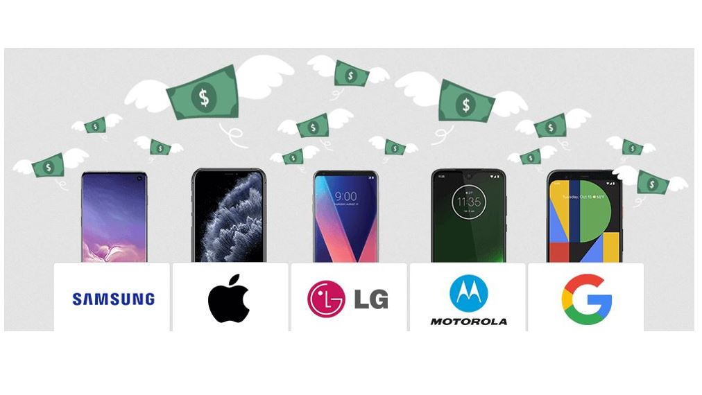 Smartphones that retain value