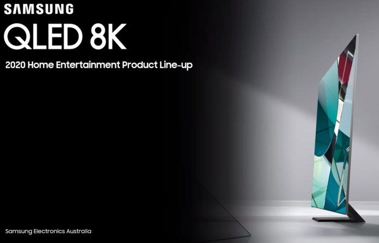 The Samsung 2020 TV range