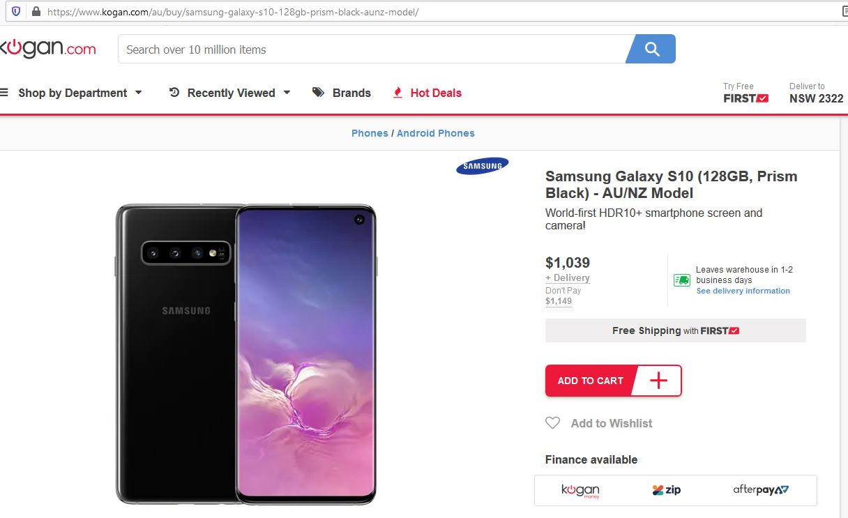 Samsung Phones Are Region Locked But It Is Not Stopping The Shonkies We Name And Shame Gadget Guy Australia