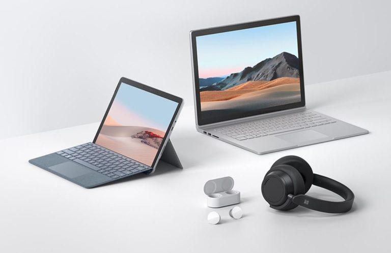 Microsoft 2020 hardware updates