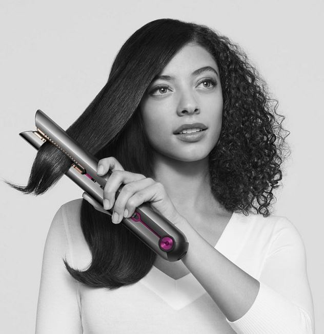 The Dyson Corrale hair straightener