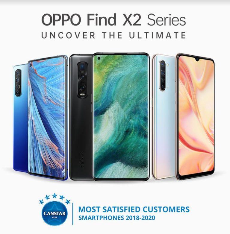 OPPO Find X2 5G series