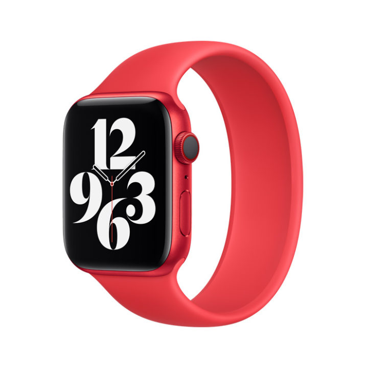 Apple Watch band rubber