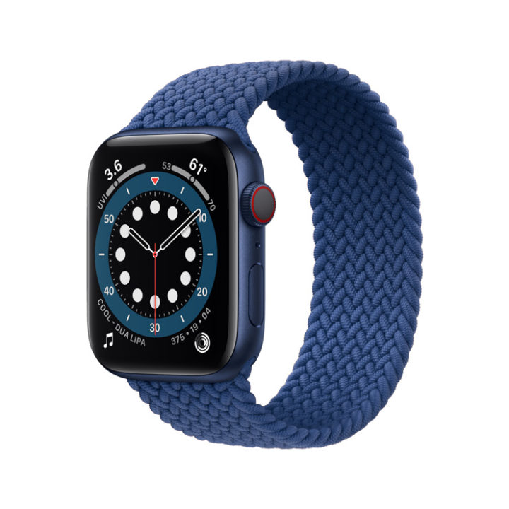 Apple Watch band weave