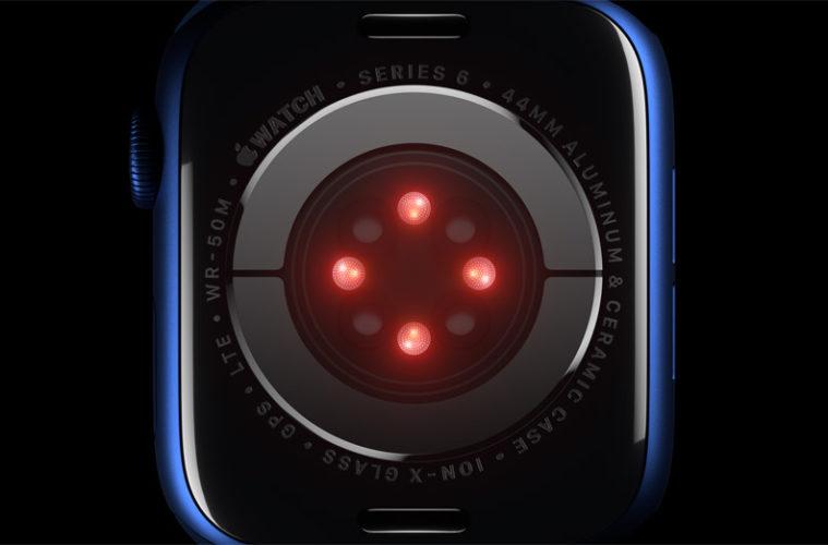Apple Watch Series 6 Blood Ox sensor