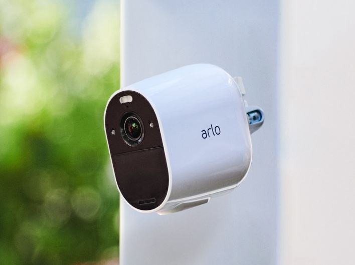 Arlo Essential Spotlight 1080p camera
