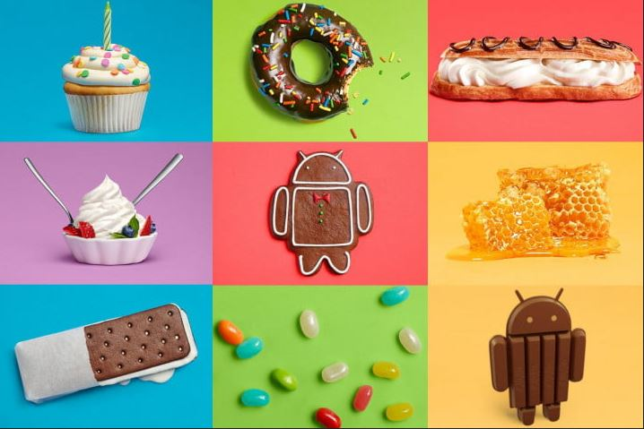 Google Android OS upgrades