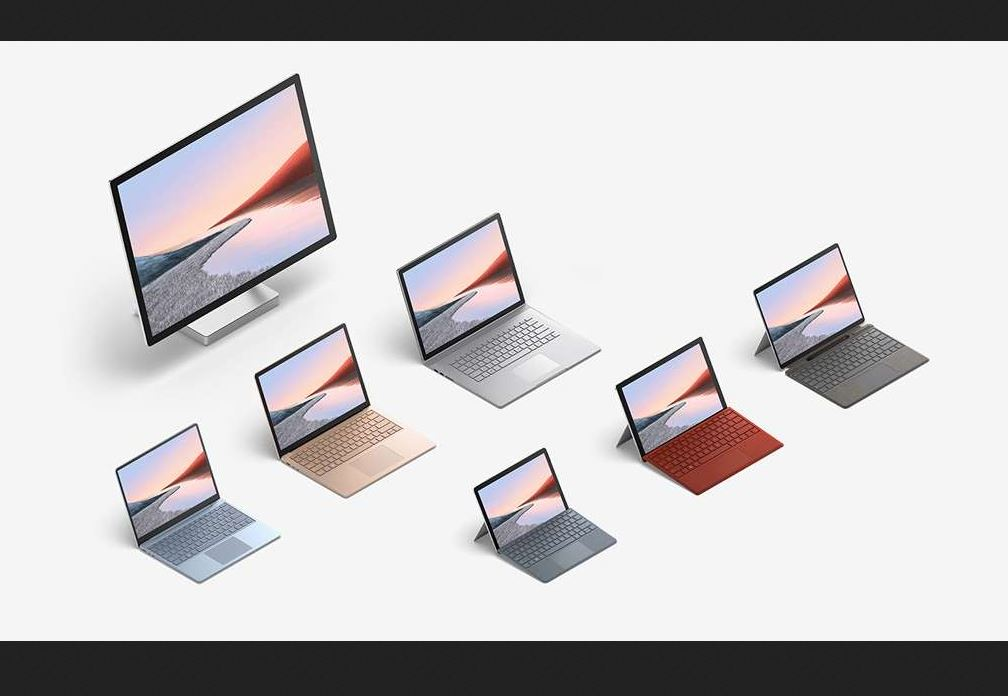 Surface 2020 range