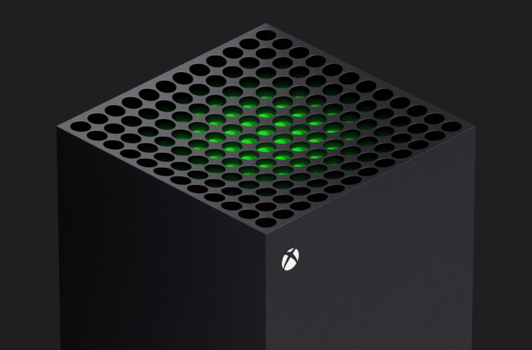 Xbox Series X top view