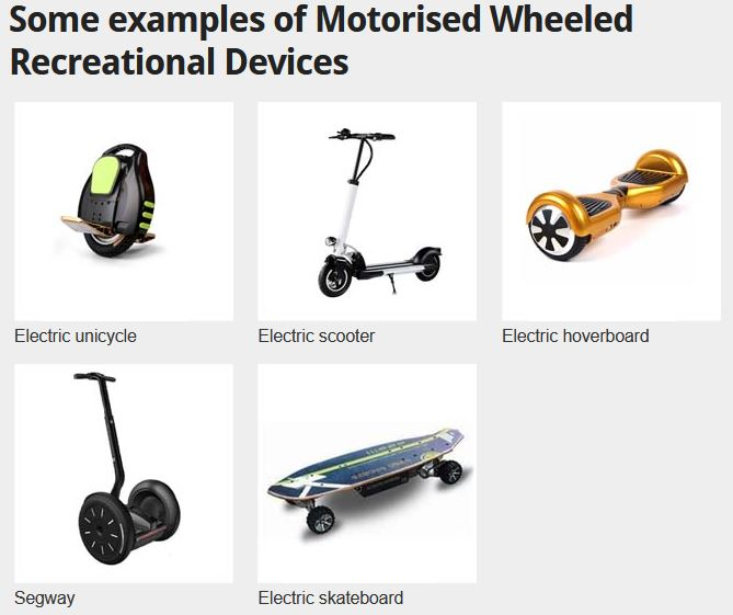 Powered e-scooters
