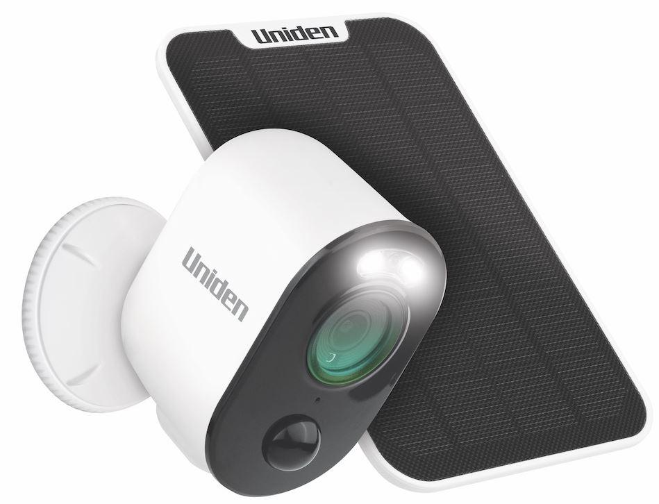 Uniden Guardian App Cam Solo Pro and SPS-02 solar