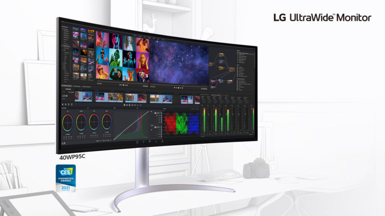 LG 2021 Ultra monitors
