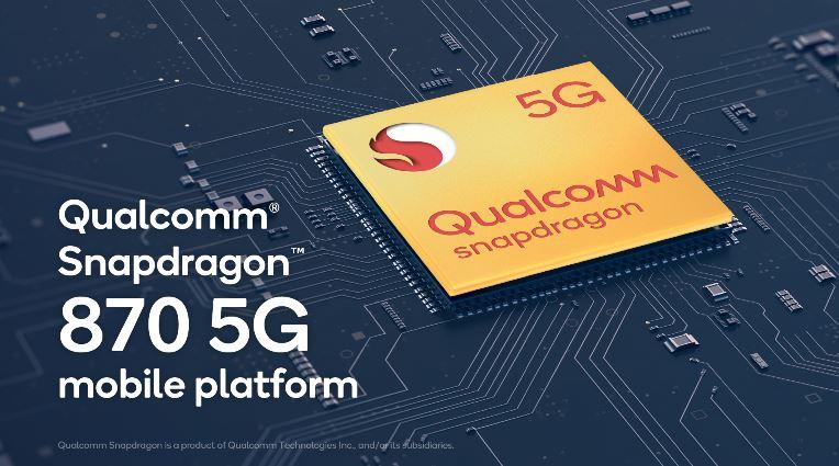Qualcomm SD870 5G
