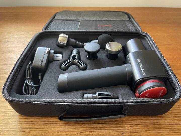 Hydragun massage kit