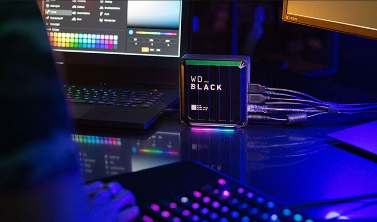 WD Black D50 Game Dock