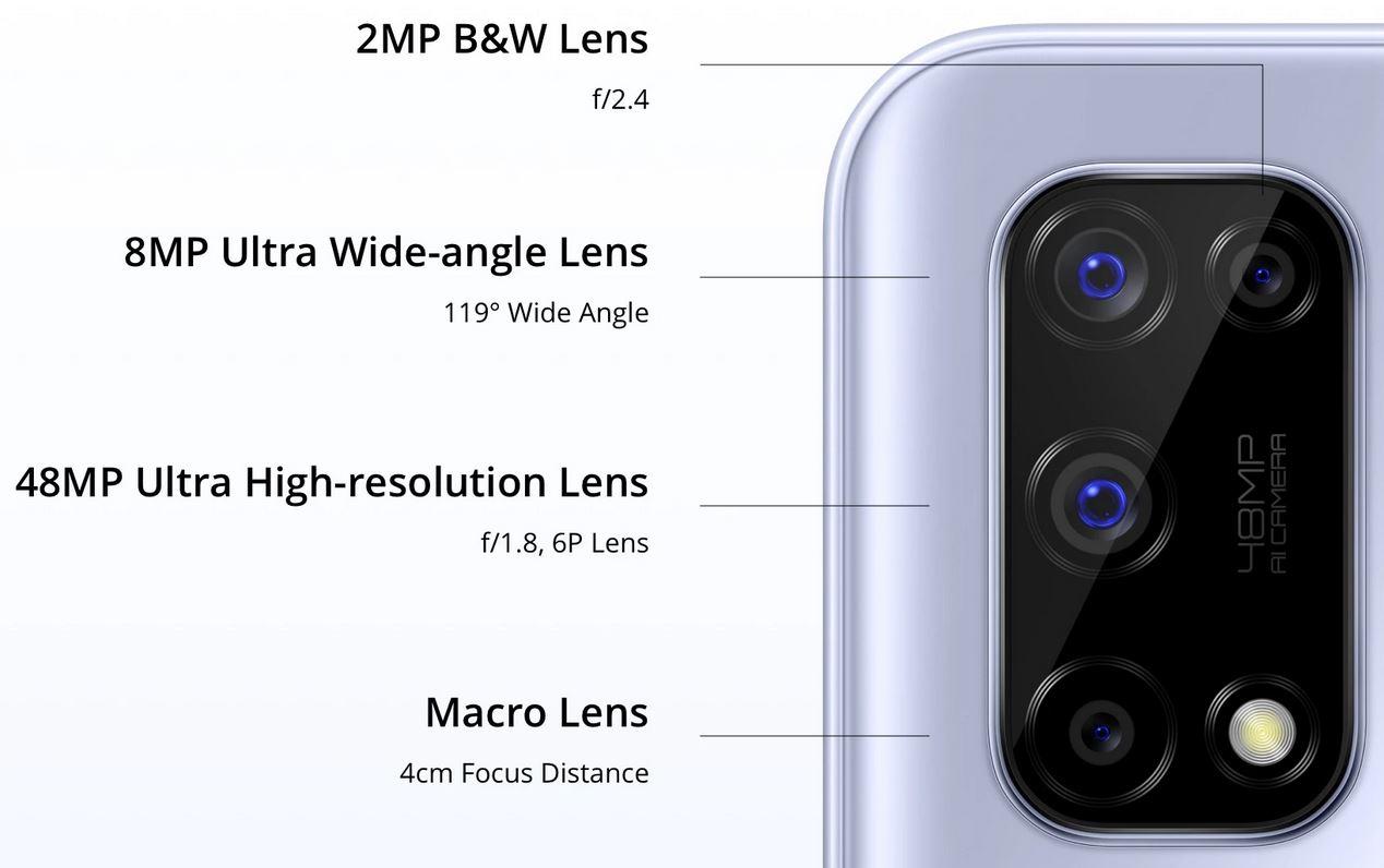 Realme 7 5G camera
