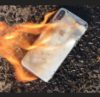 Apple iPhone X caught fire